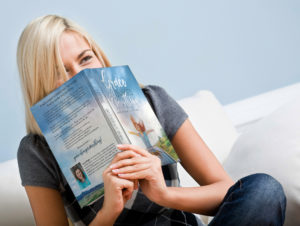 Grace changes everything - girl reading